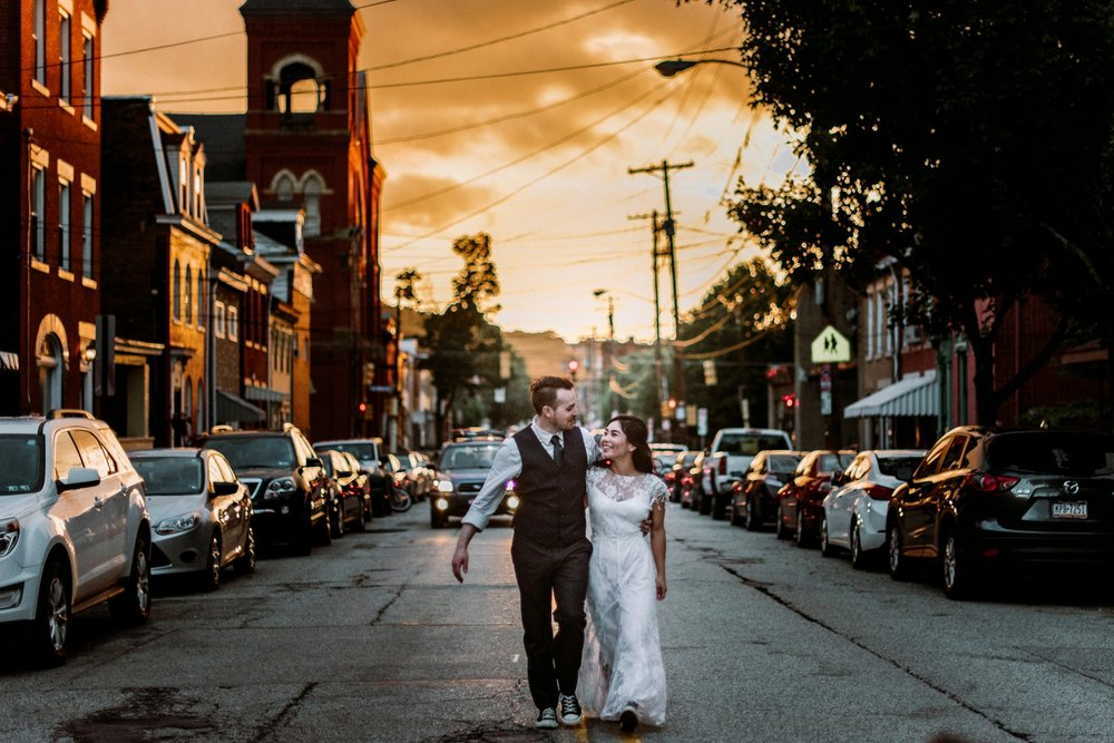 South Side Pittsburgh wedding