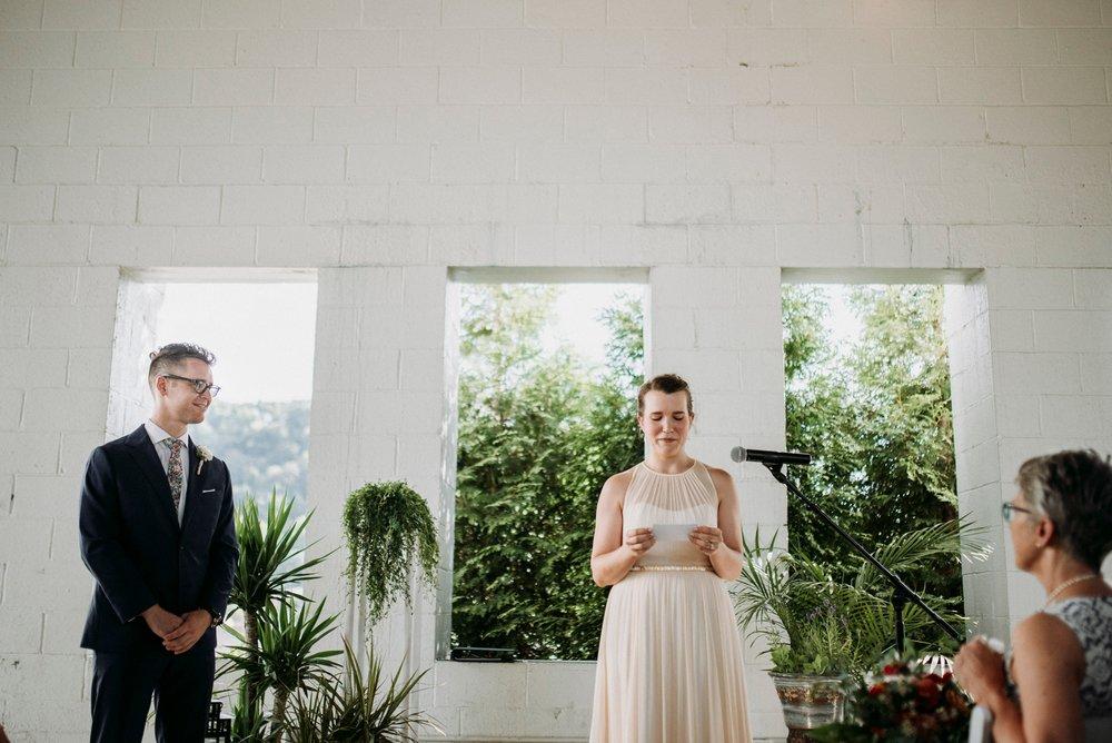 aspinwall riverfront wedding