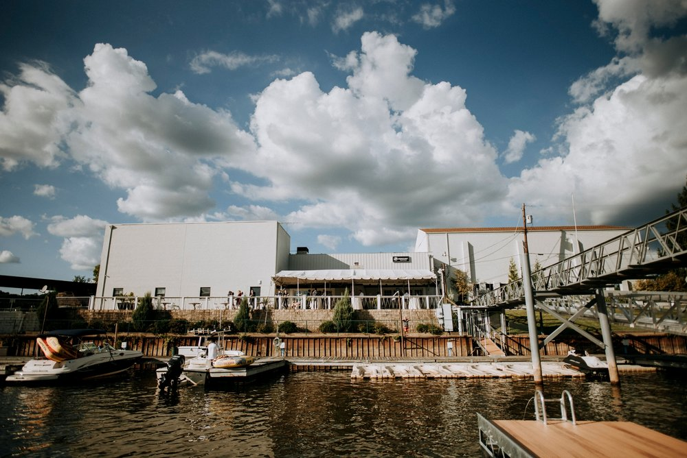 Riverfront weddings by JPC events