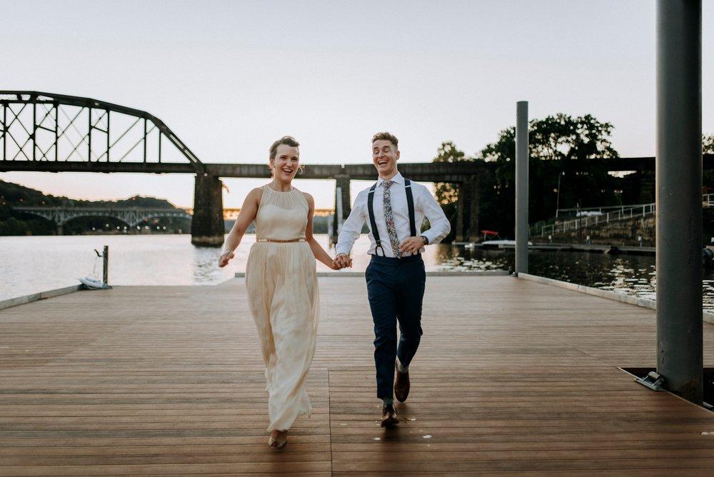 fun pittsburgh wedding photographer