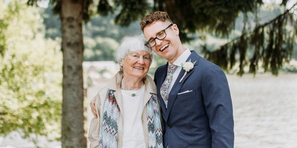 grandma wedding