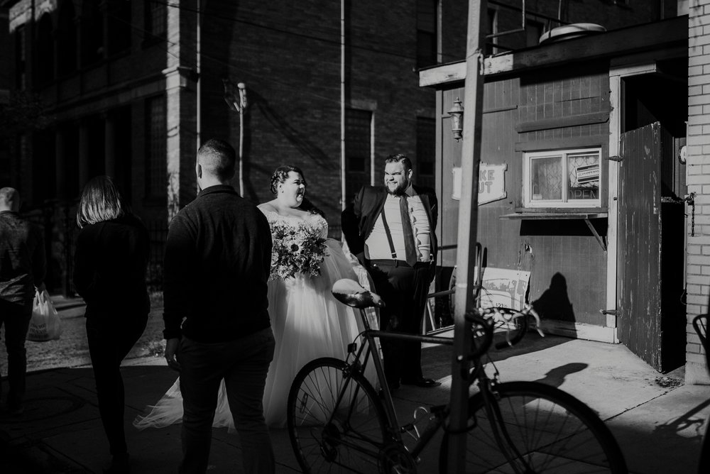 urban wedding pictures pittsburgh