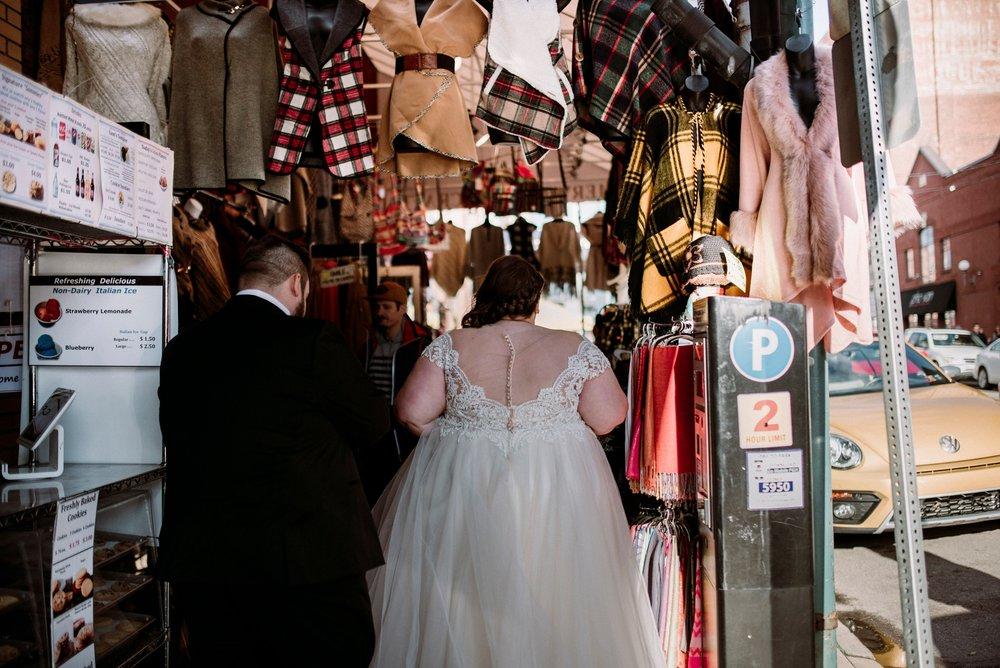 urban wedding pictures