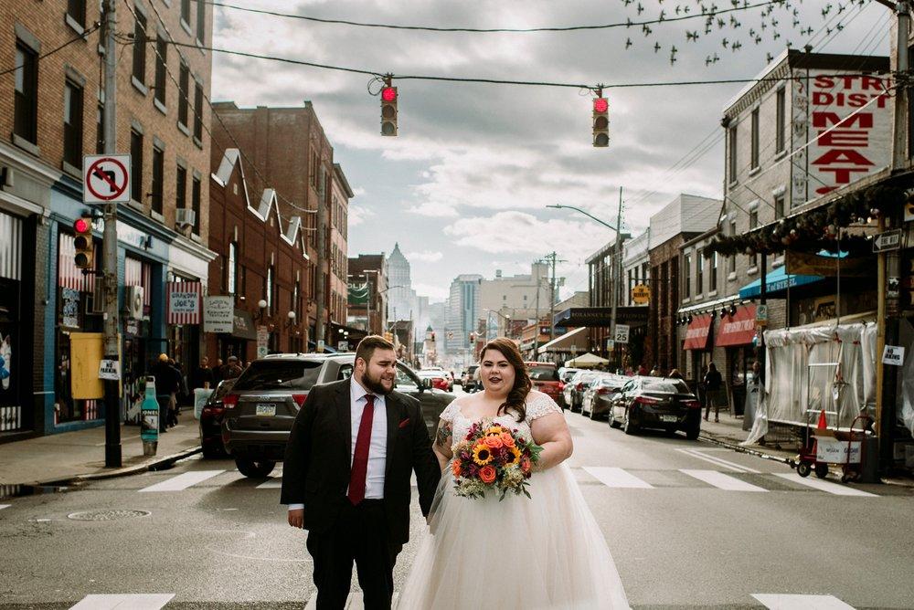 strip district wedding