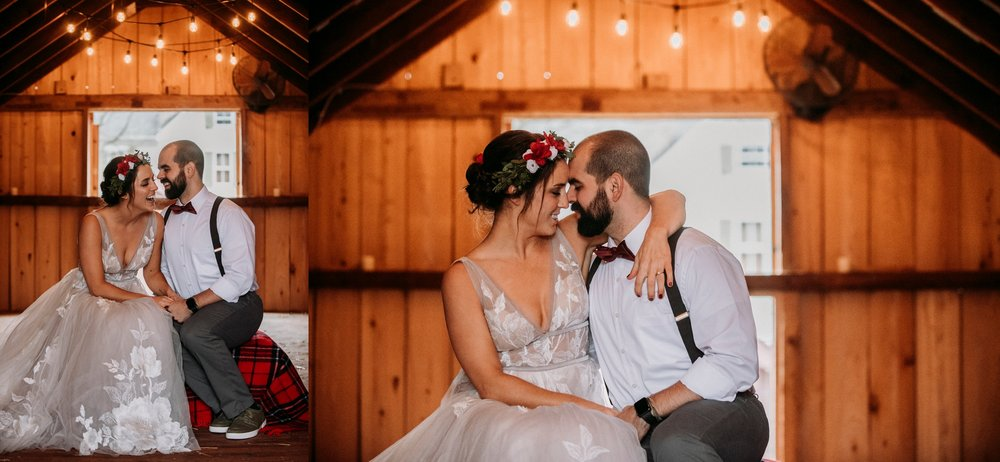 barn wedding pictures