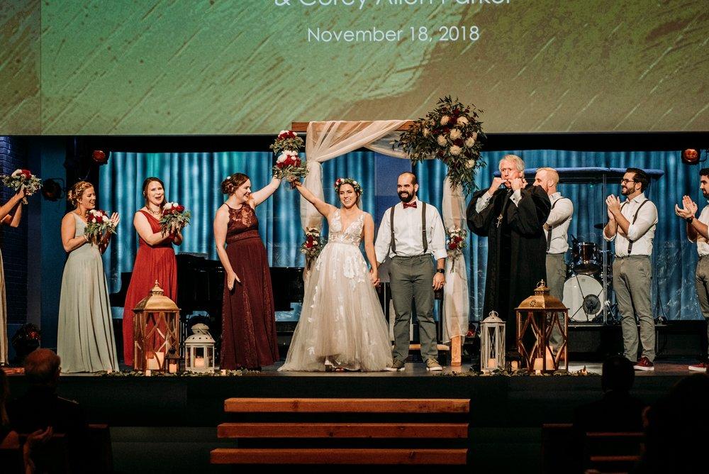 fun christian wedding