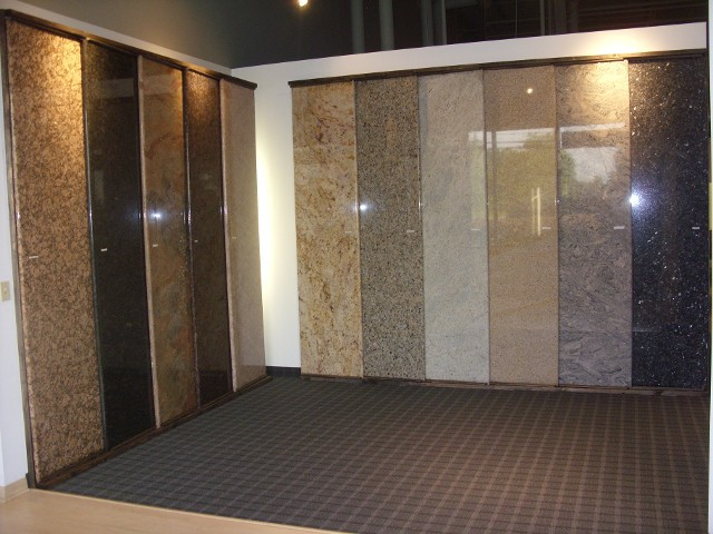 Lots of choices of granite!