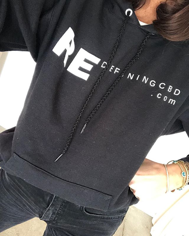 Extremely proud of my amazing husband for launching his CBD brand @recbd you know I got an exclusive hoodie to represent ☺️ Use code LOVERE15 for 15% off 🙌🏼 www.redefiningcbd.com