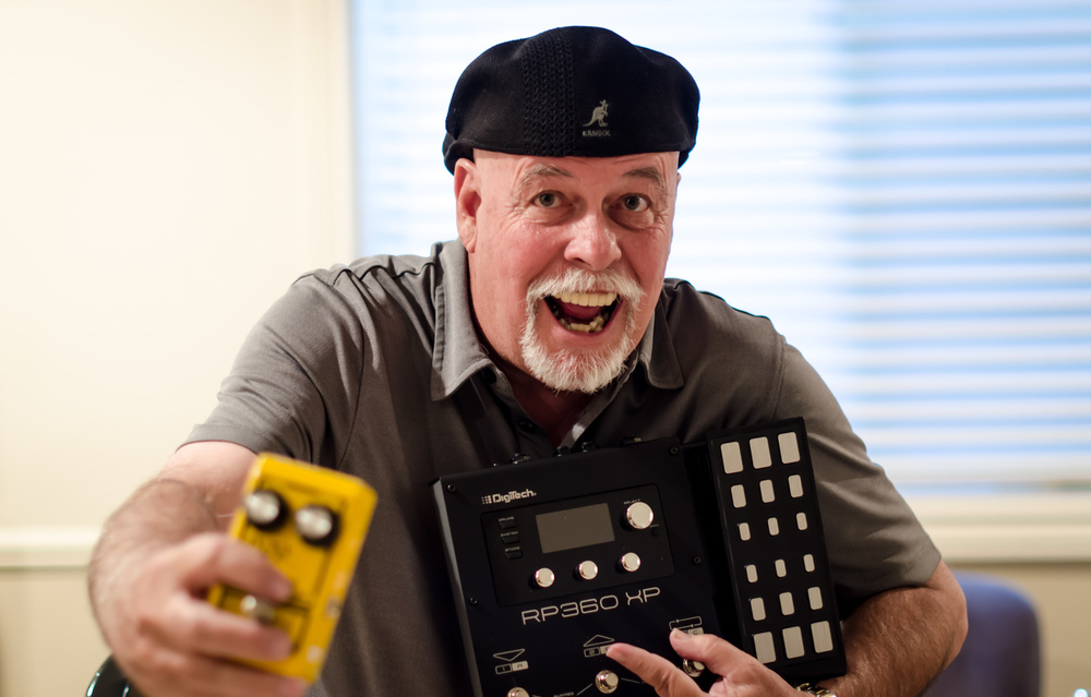 DigiTech co-founder and guitar effects pedal inventor John Johnson