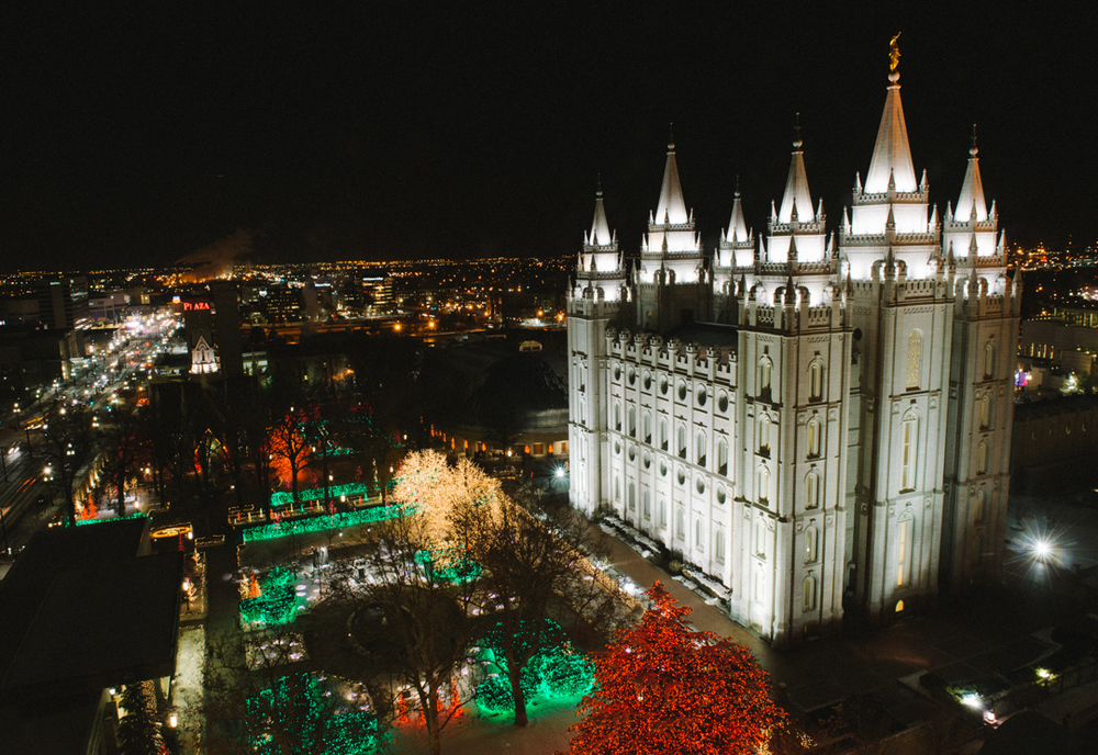The Lights of Temple Square