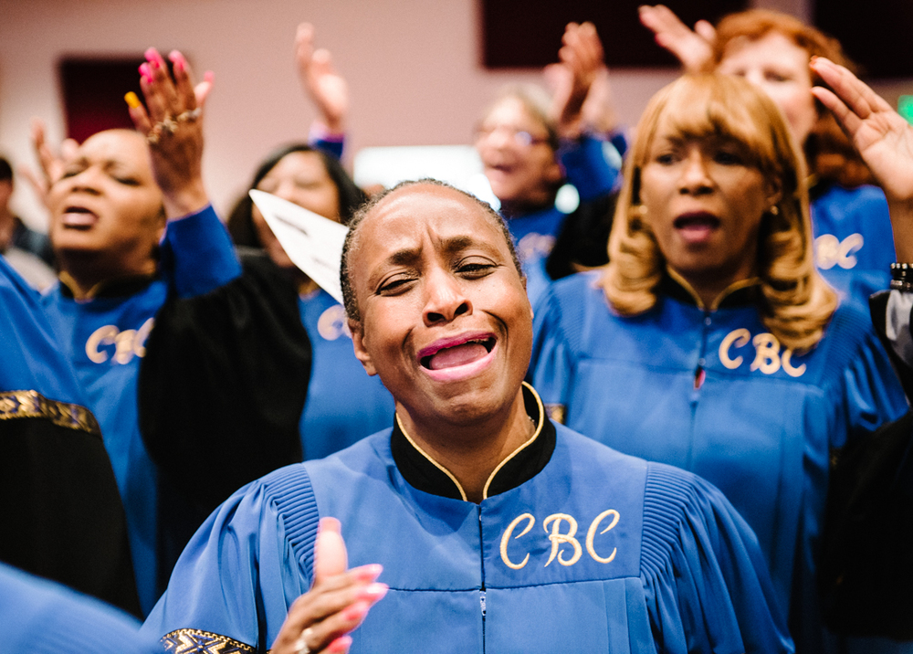 Calvary Baptist Church's Inspirational Choir