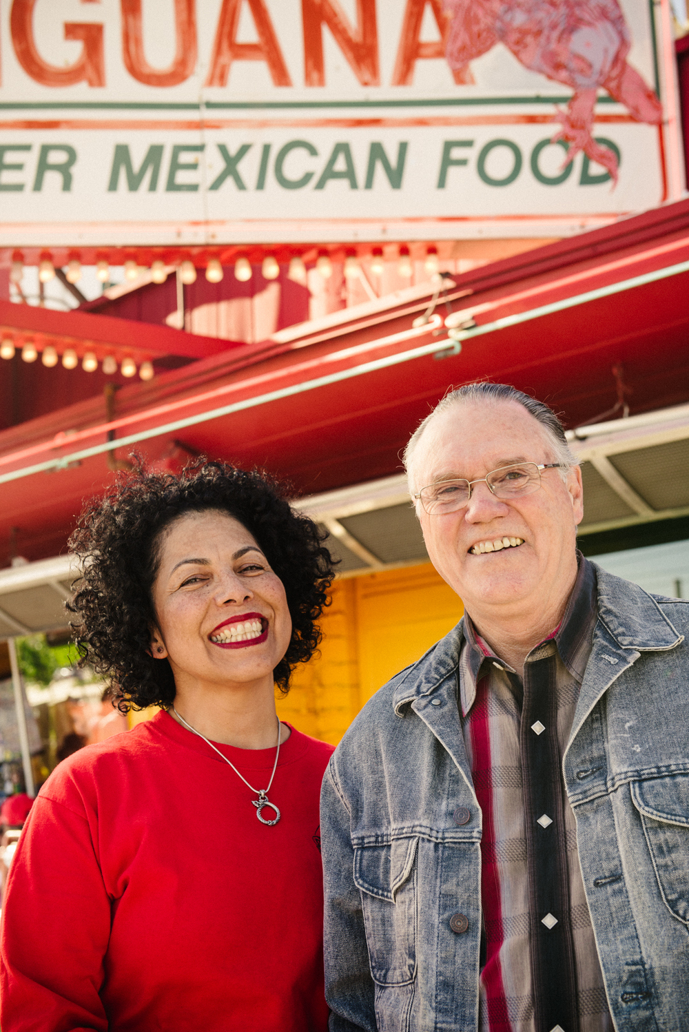 Red Iguana owners Lucy Cardenas and Bill Coker