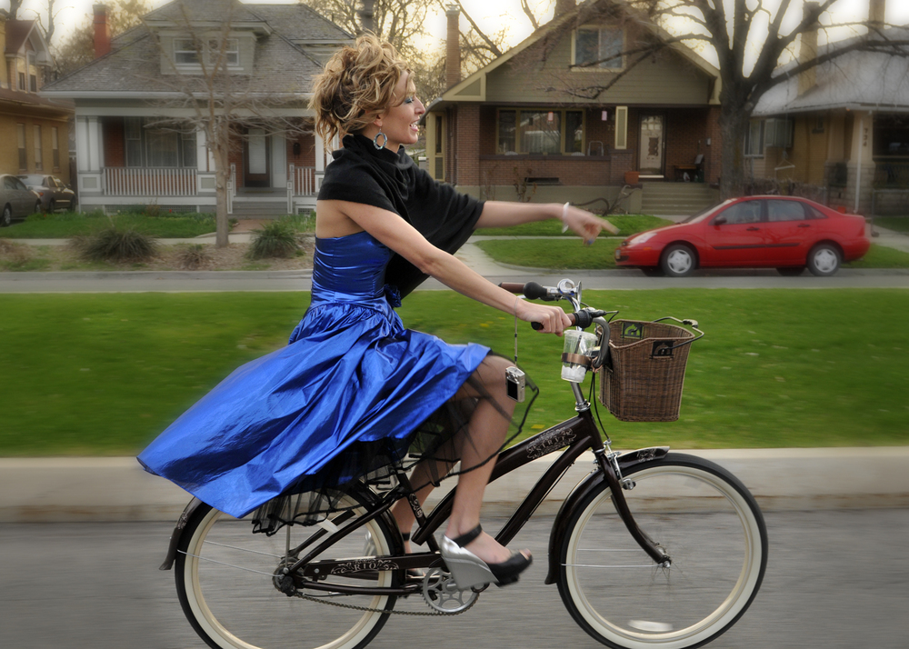 Salt Lake City Bicycle Collective Bike Prom // Photo: Anna Day