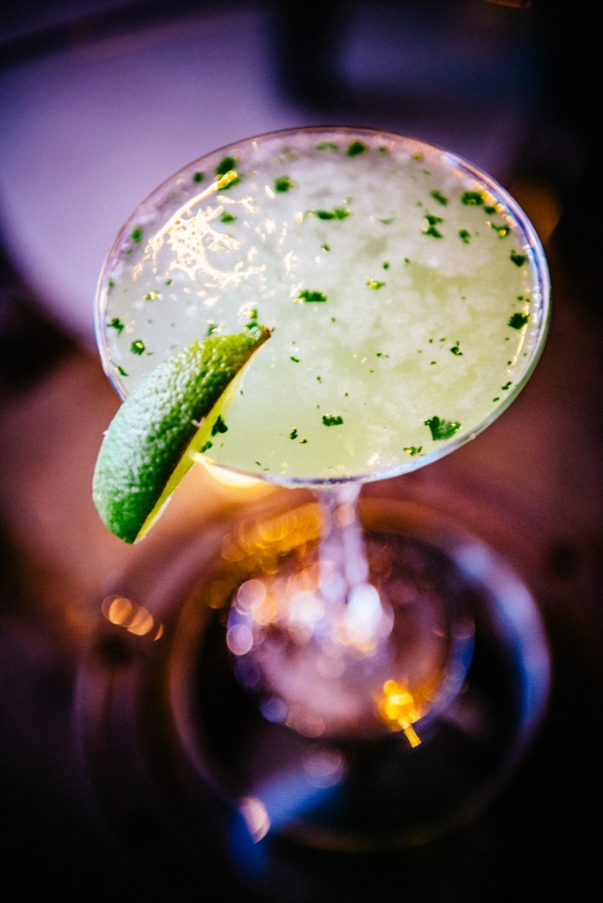 Jalapeño martini // The Red Door