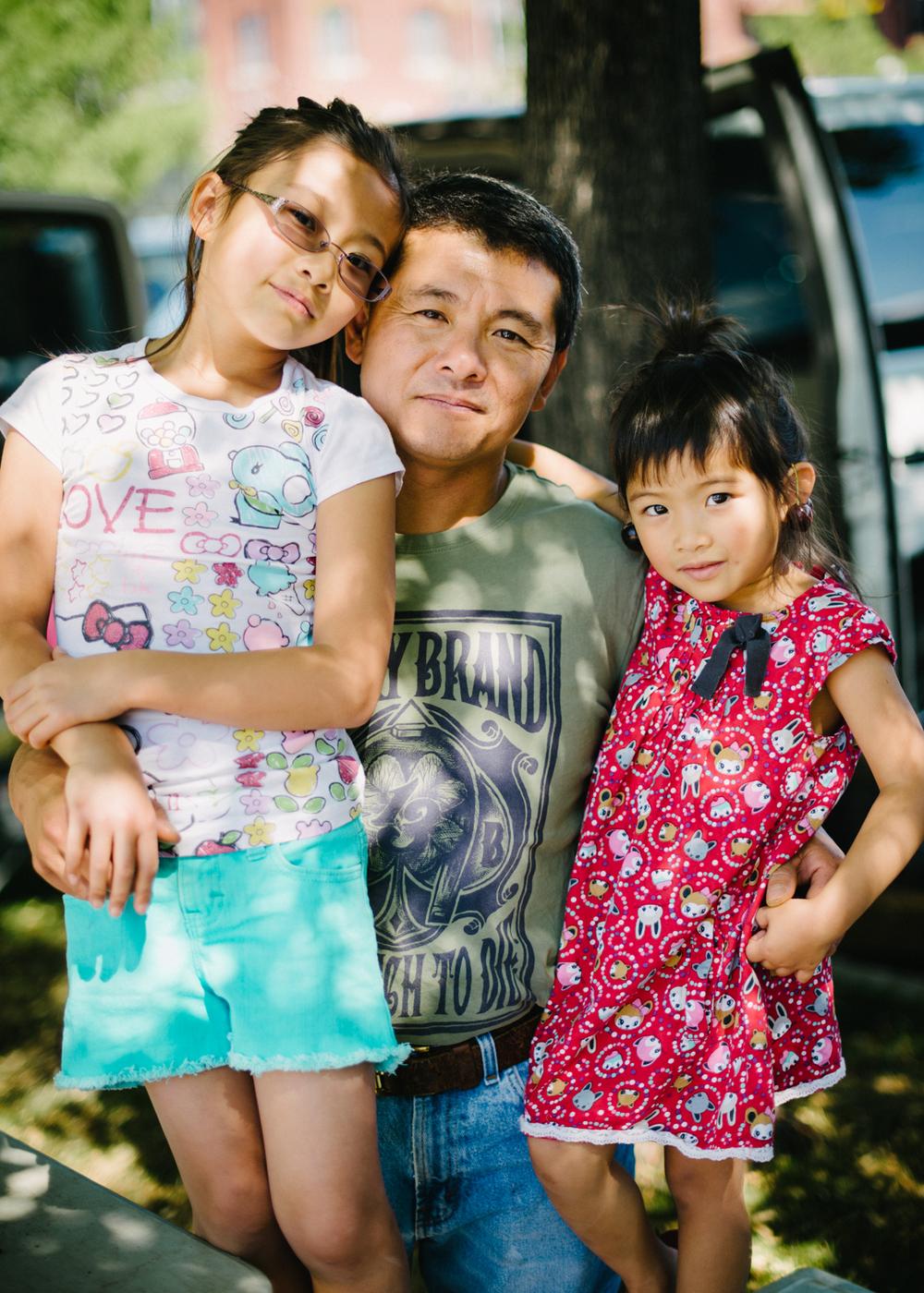 Zoe, David, and Cora Chen // Zoe's Garden