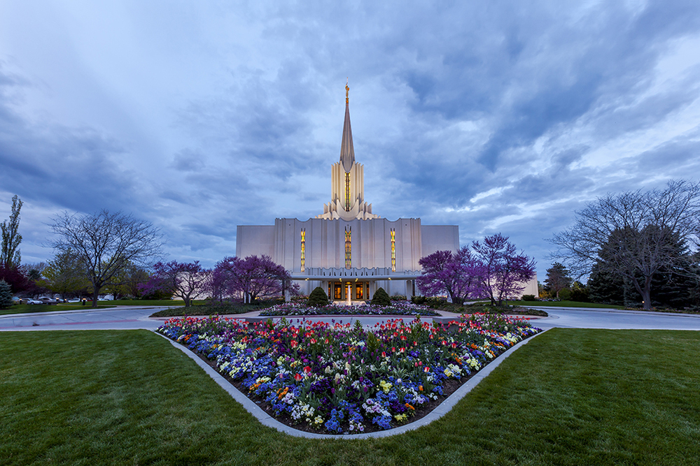 Jordan River Temple // All photos and words for this story: Phill Monson