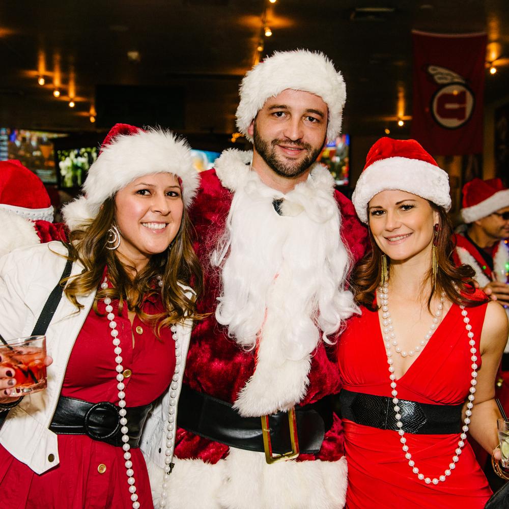 Utah Santa is a polygamist. Typical.