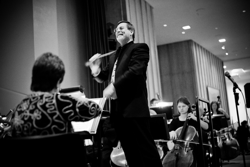 Salt Lake Symphony conductor Robert Baldwin