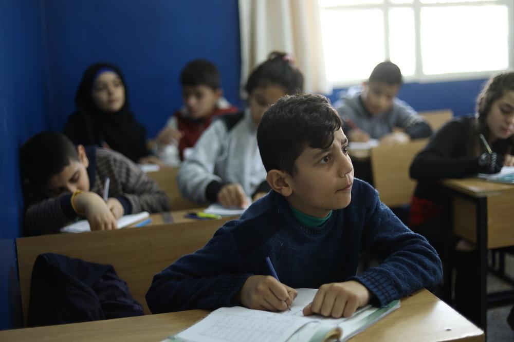 Abid Allah Sheikho_in class.JPG