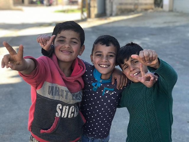 Some of the regulars who hang out at our lighthouse in the Beqaa! Thank you all for your support and prayers that enable us to love on these refugee kids and their families! #HorizonsInternational #1000lighthouses #refugeeministry
