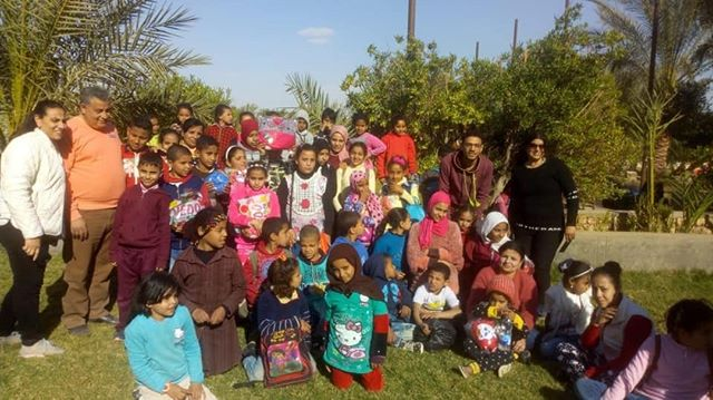 A special day for orphan children this week in one of our lighthouses in Egypt. Close to 40 orphans attended, heard the Gospel and were loved on. #HorizonsInternational #1000lighthouses #PrayForEgypt