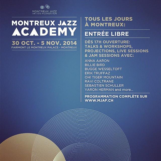 En concert le 03 novembre à la Funky Claude's Lounge de Montreux #pressionetrejouissance #chance #merci @montreuxjazzfestival #montreuxjazzacademy #billiebird