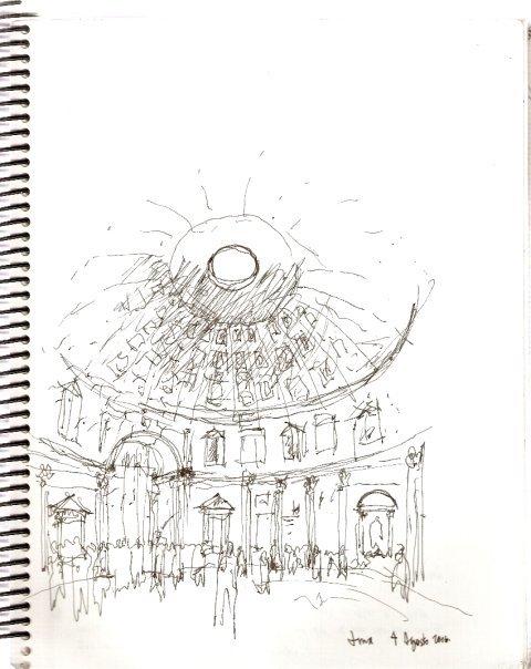 El Panteon, Italia