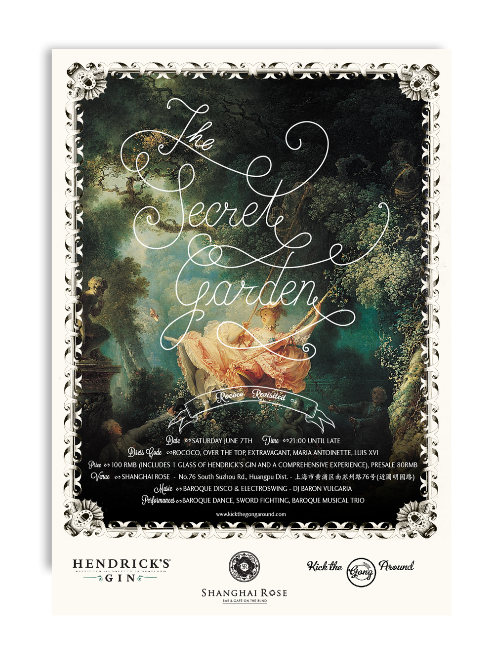The Secret Garden - Rococo Revisited