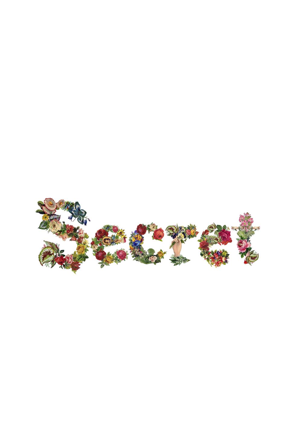 Flower Lettering