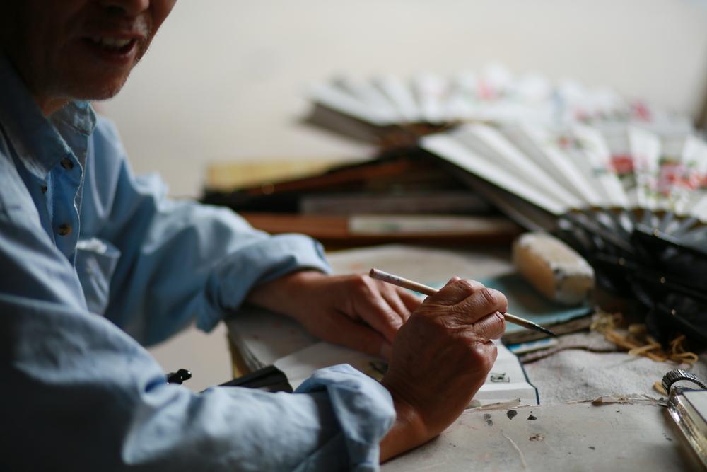 Fan Paiting Workshop