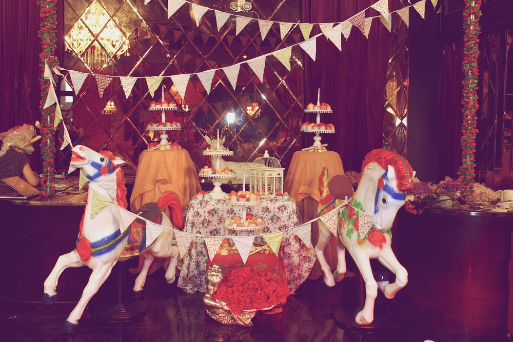 Rococo Cake Stand