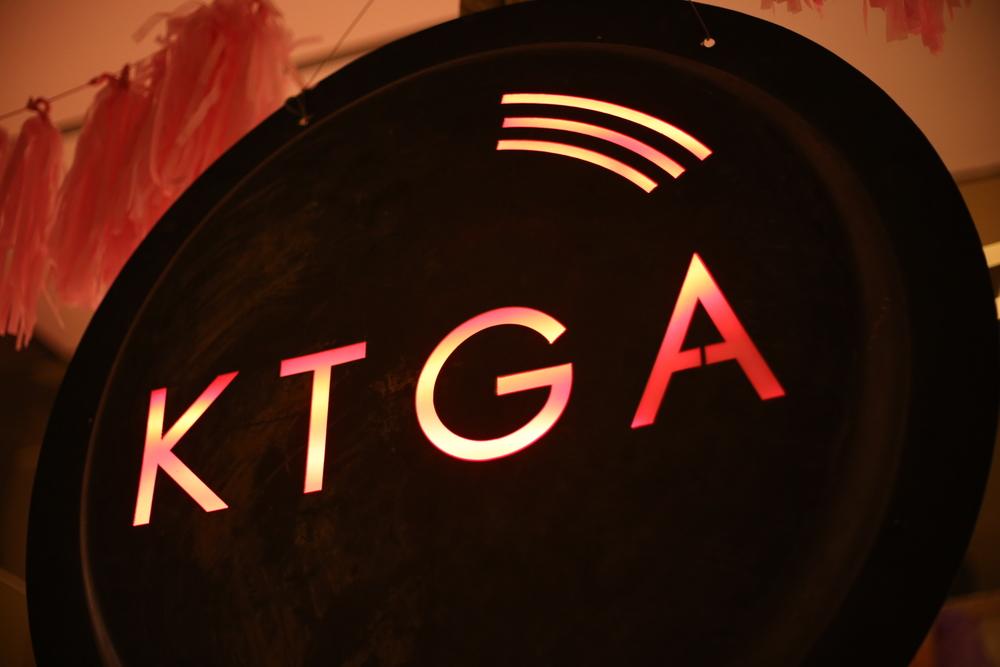 KTGA sign
