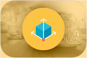 biodiesel power 3D icon