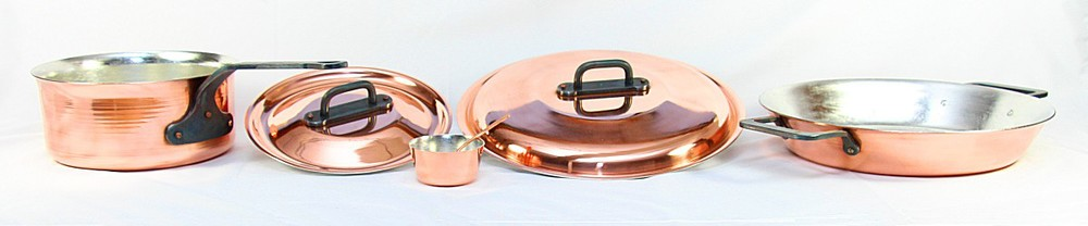 Lara Copper Cookware Tippity Tea