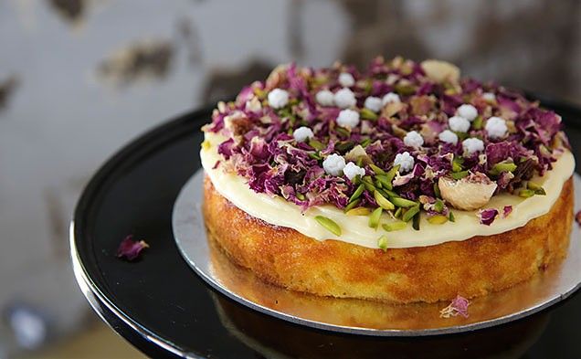 Orange Cake with Persian Fig  (Photo cred. Timeout Sydney).