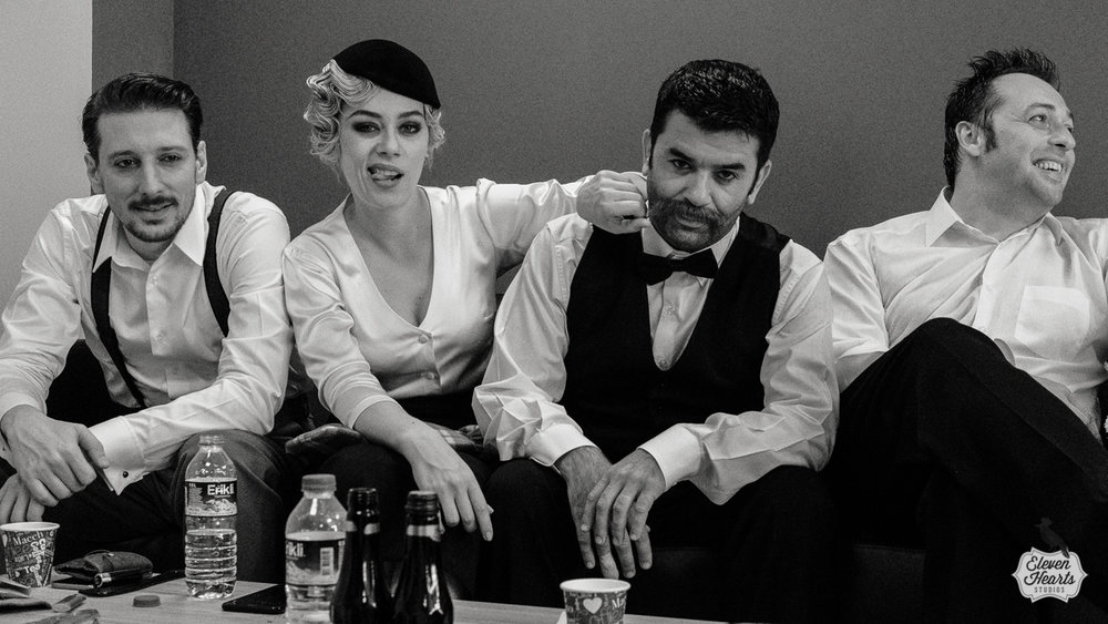 Zorlu Sahne Sanatlari Backstage, Istanbul 2016