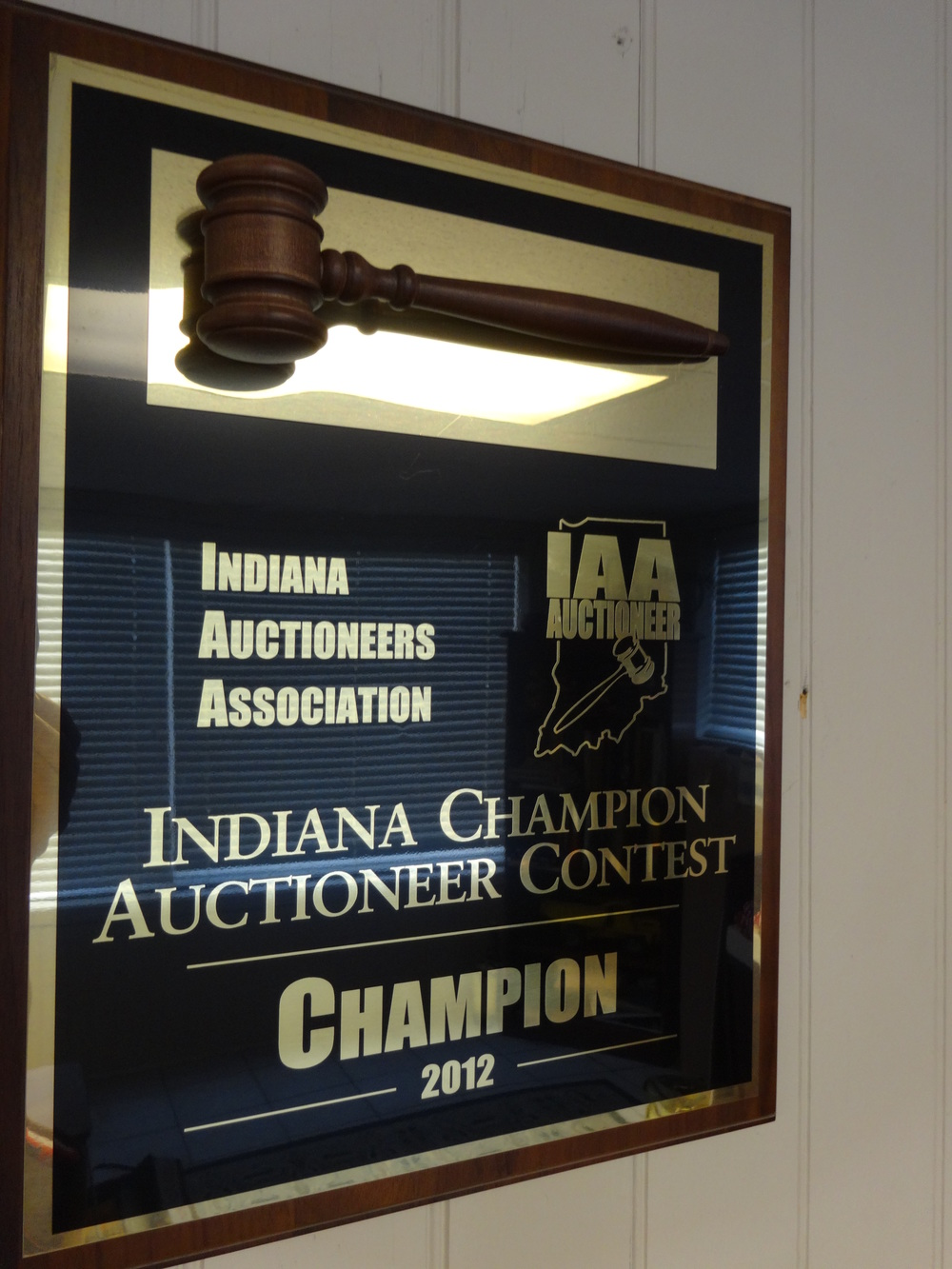 2012 Indiana Auctioneers Association Champion