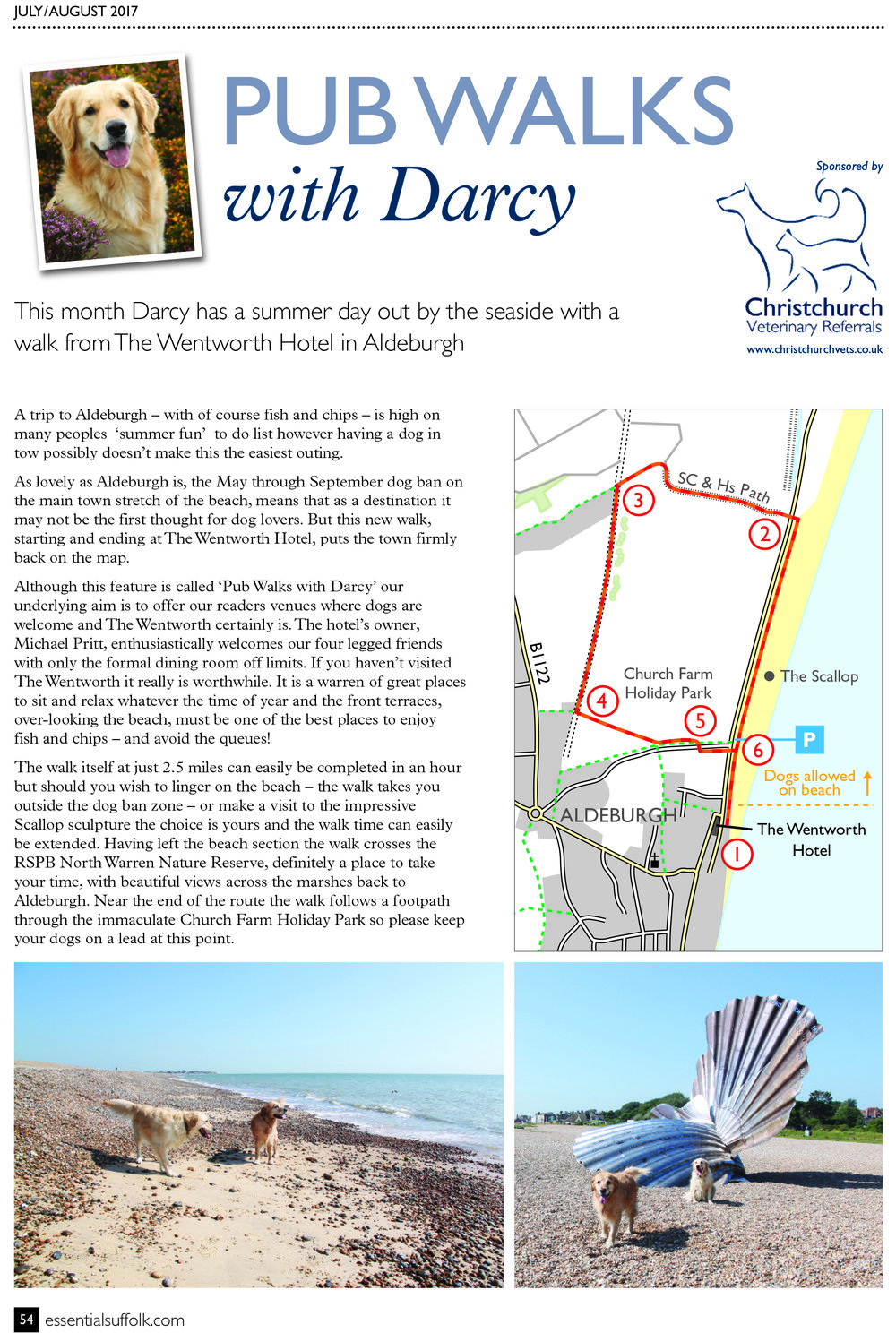 Aldeburgh Dog Walk route 1 page 1