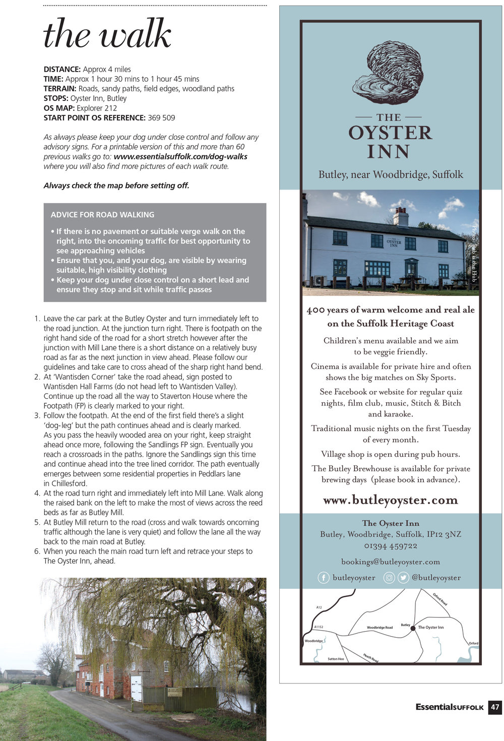 Essential Suffolk Butley dog walk route 2 page 2
