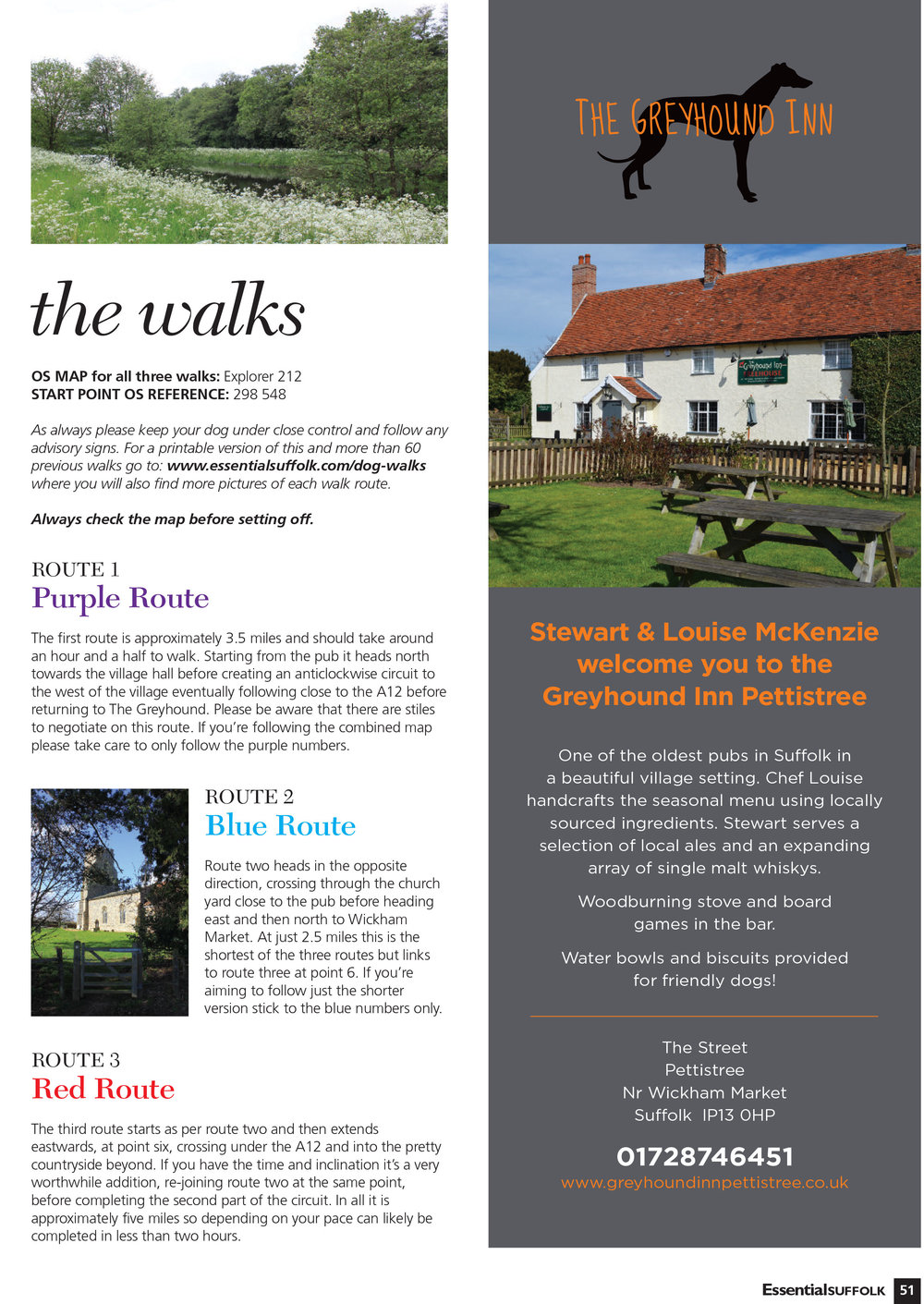 Essential Suffolk Pettistree dog walks page 2
