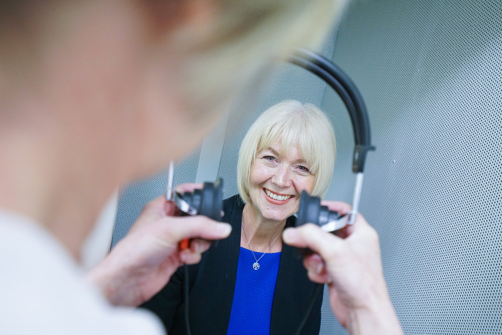 A patient having a hearing assessment - Credit Tony Pick Photography.jpg