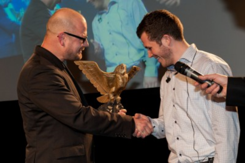 Jakob Witt at Dutch Game Awards (C) Photo by Dutch Game Awards.