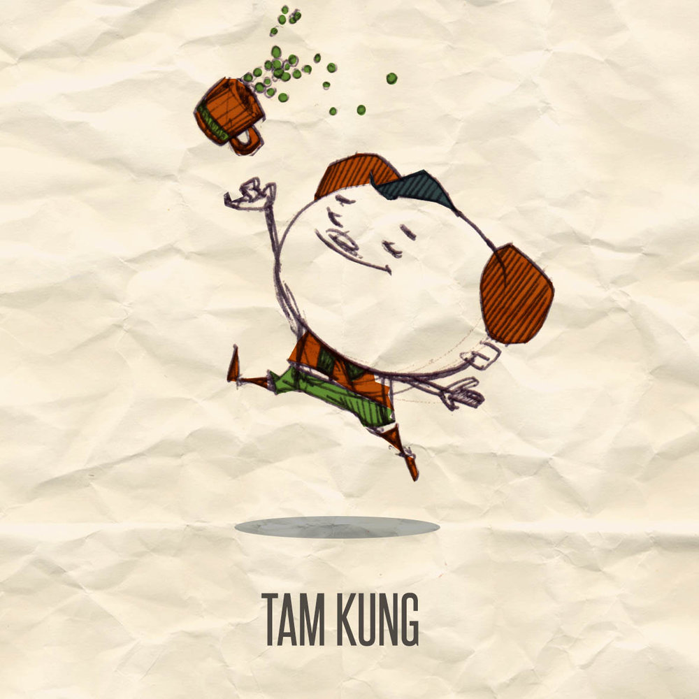 MEET TAM KUNG - Thrower of peas, Maker of wind.