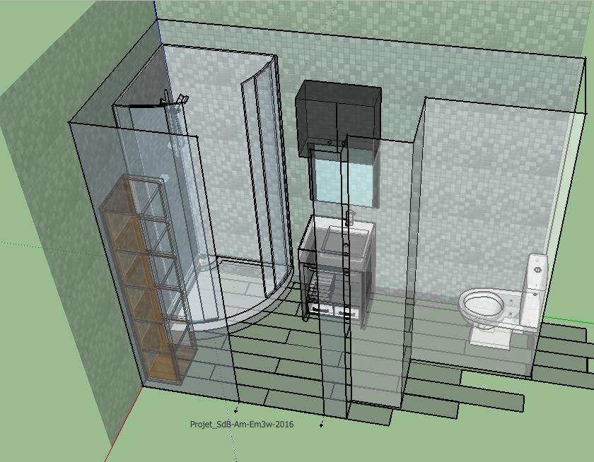 Projet Salle De Bain 3d Em3w Amenagements Interieurs Sur Mesure