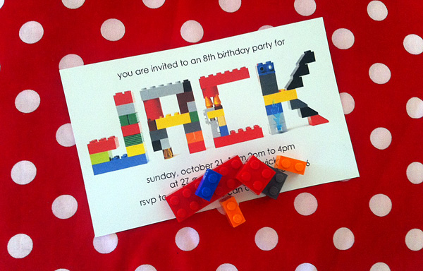 Lego Inspired Kids Birthday Party
