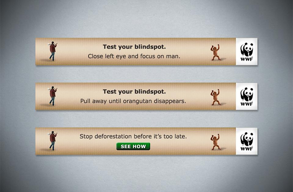 WWF , 'Blindspot' – leaderboard banner