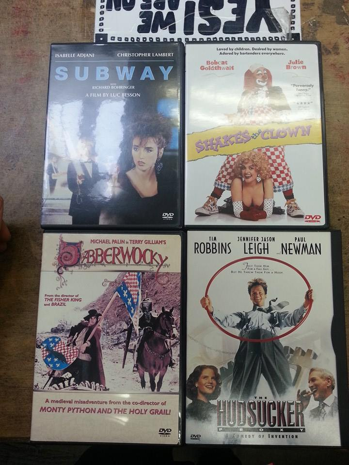 Handful of Out of Print DVDs