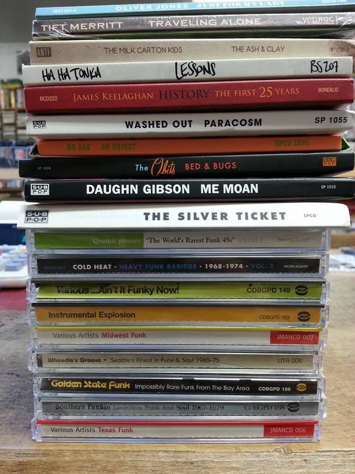 CDs - Funk and New Releases
