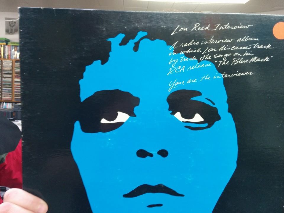 Lou Reed Promo Interview LP