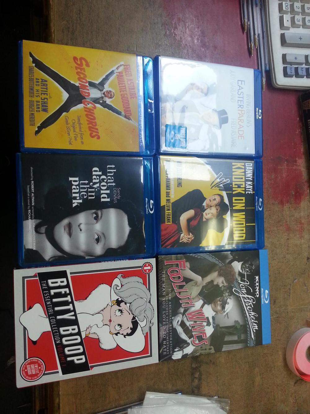 Some nice Blu-rays